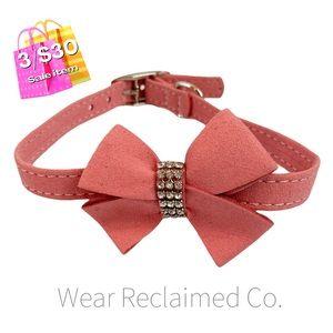 🛍3/$30 SALE🛍 NEW Pink & Rhinestone CAT Collar